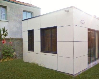 Extension toit plat