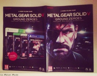 Poster MGS 5 Ground Zeroes