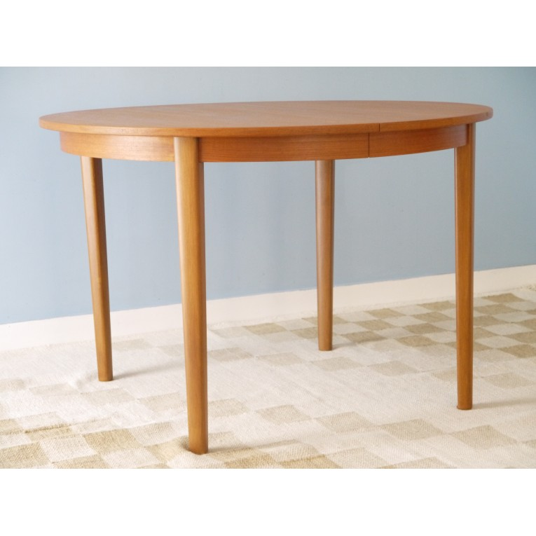Table Ronde Scandinave Extensible.Table Ronde Extensible Scandinave