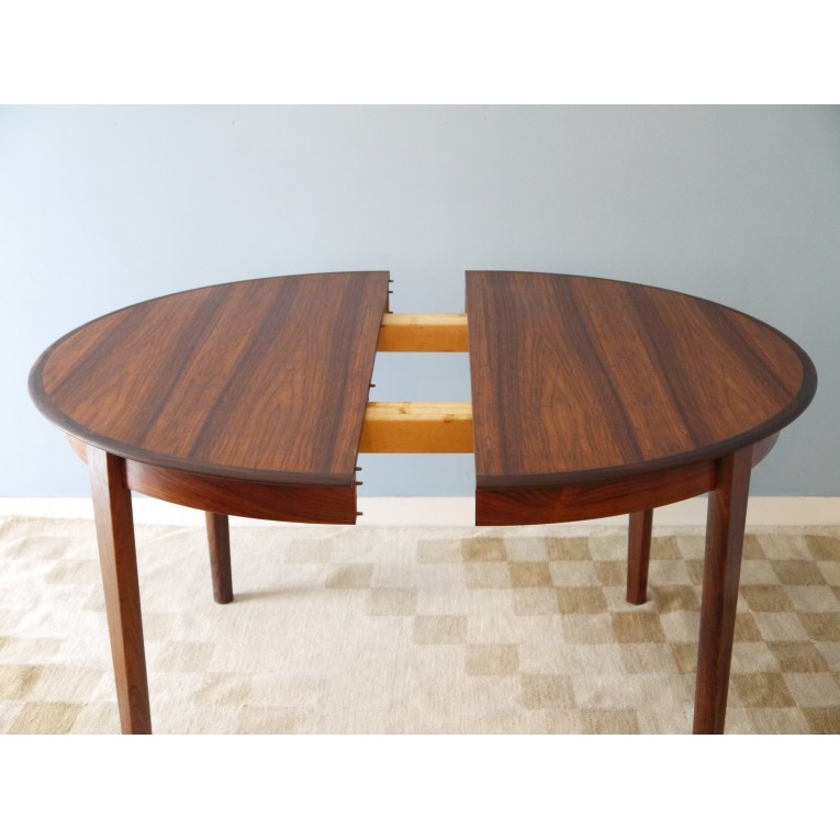 Table Ronde Scandinave Extensible