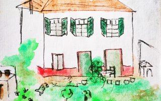 Dessin de la Maison ZiaZen