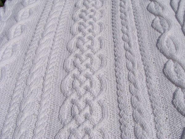 Etole 100% coton mercerisé, tricotée main. Pièce unique, création originale La Malle au Coton O1