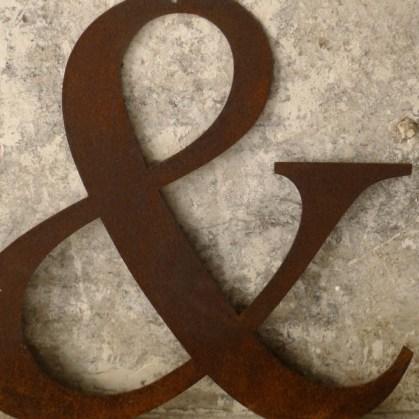 lettre-chiffre-metal-rouille
