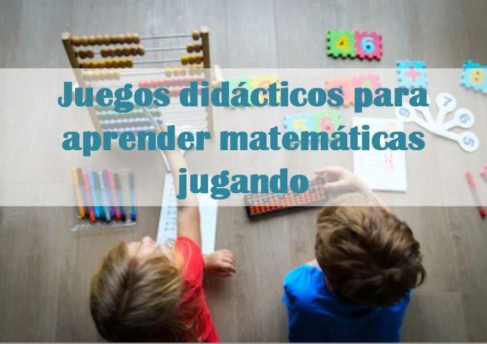 Juegos Didacticos Para Aprender Matematicas Jugando La Mama Fa El