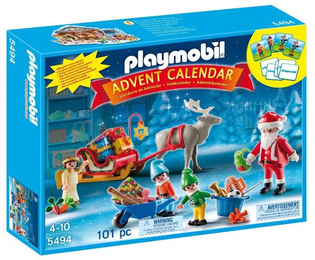 Calendario adviento playmobil