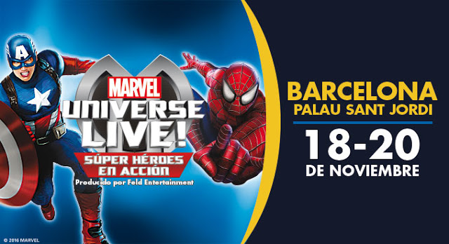 marvel live espectaculo