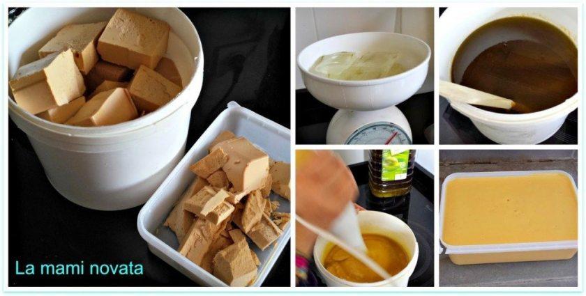 Jabón casero de aloe vera para pieles sensibles