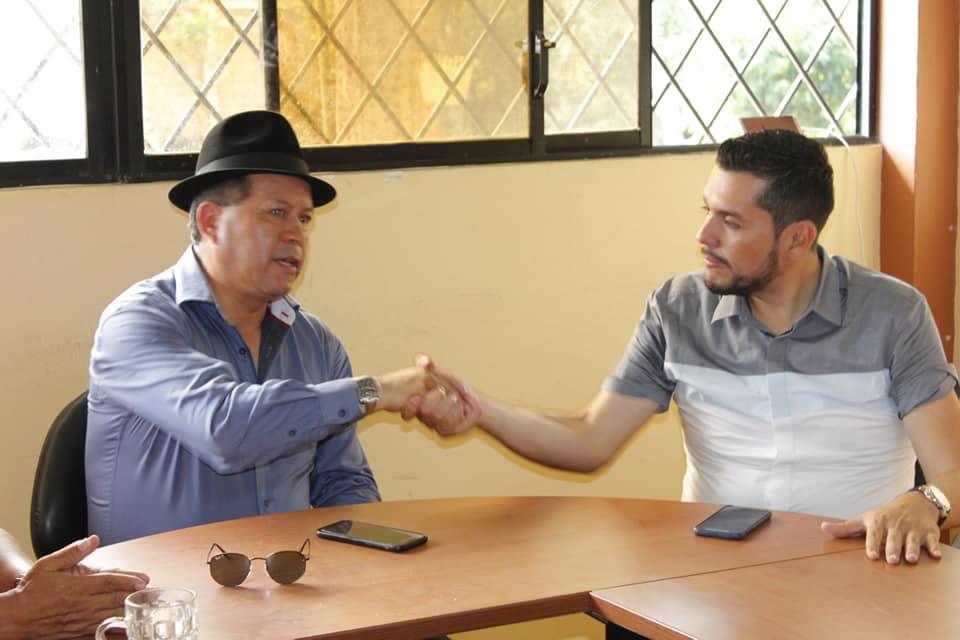 Reunión de trabajo con el sr. Prefecto de Cotopaxi