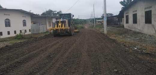 Adecentamiento de las calles de los barrios periféricos del cantón