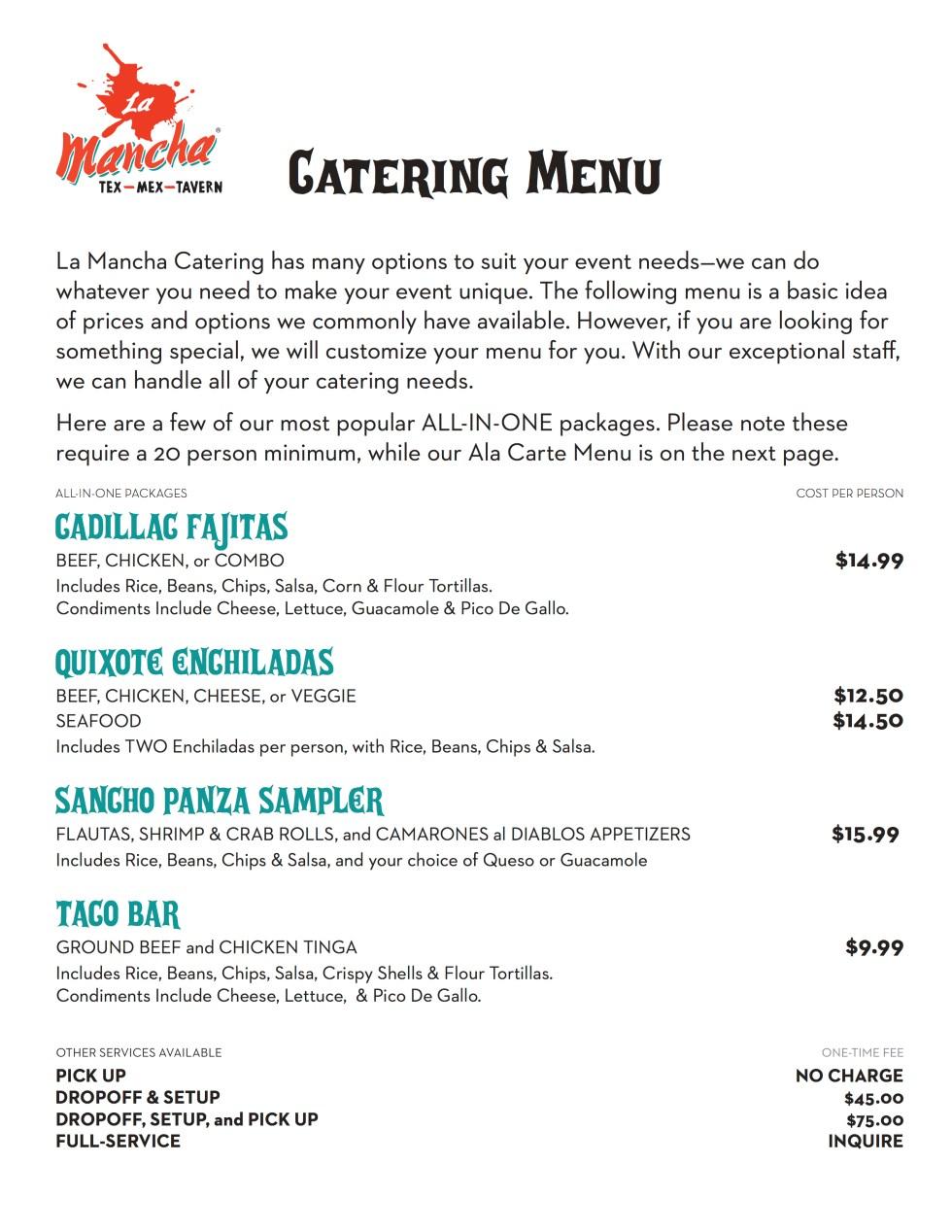 LaMancha-Catering-Menu 4.18.16