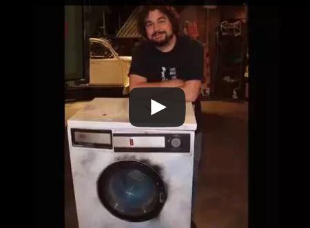 Broma de la lavadora