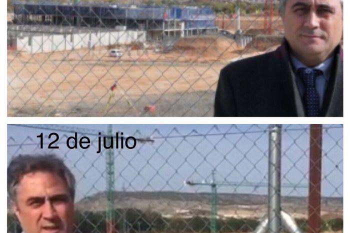 El alcalde de Cuenca dice que las obras del hospital van mal, pero bien, pero mal, pero bien, ¿que foto?