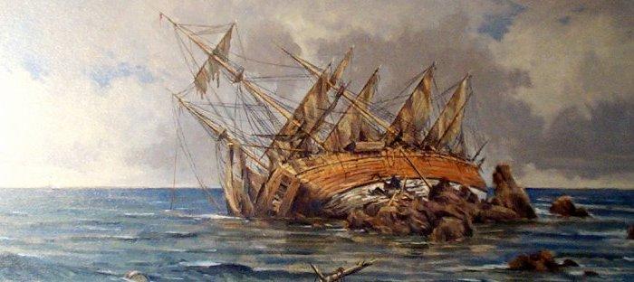 Un barco de Costa Crucero accidentado en el río Rus