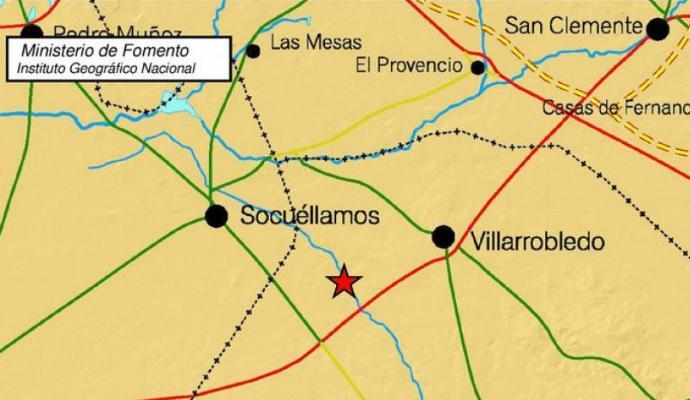 Un terremoto de intensidad CERO grados en la escala de Richter se registro ayer en Socuéllamos y comarca
