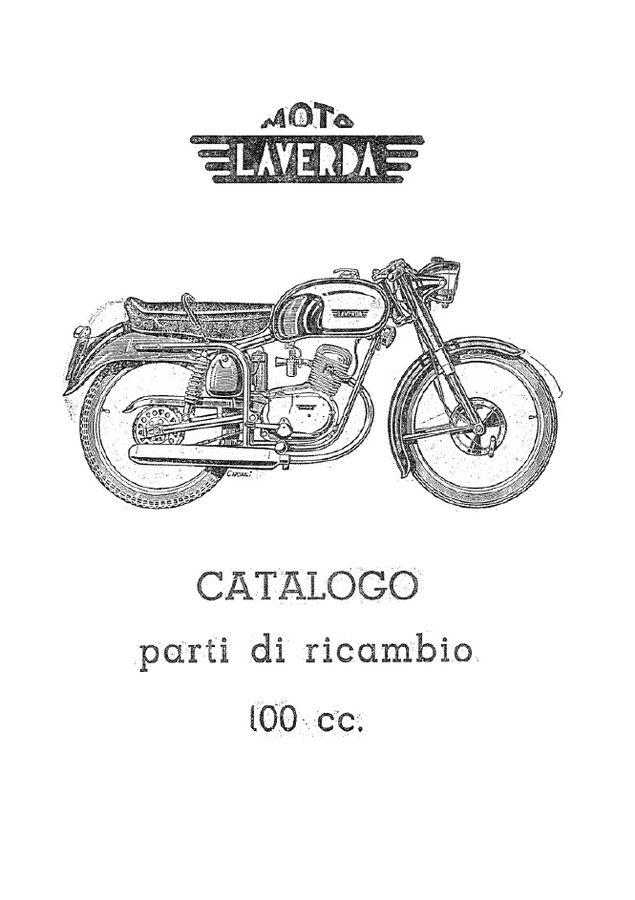 Laverda Motoleggera 100 c.c. Sport Turismo Ver1950 1960
