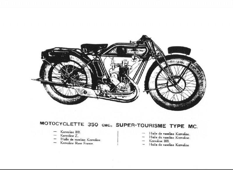 Monet Goyon 350cc Tipe MC y 500cc Tipe MCS5. Engrase y