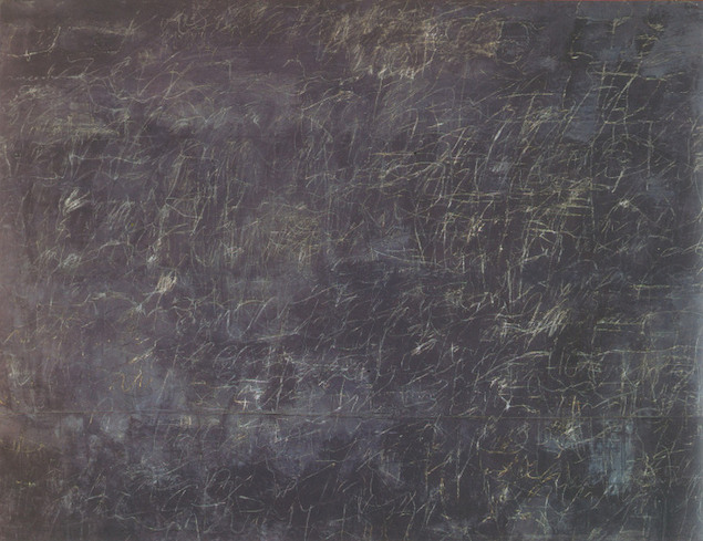 Cy Twombly, Panorama, 1955