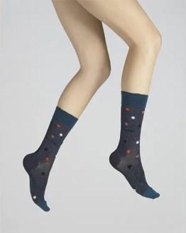 chaussettes vol de nuit fantaisie