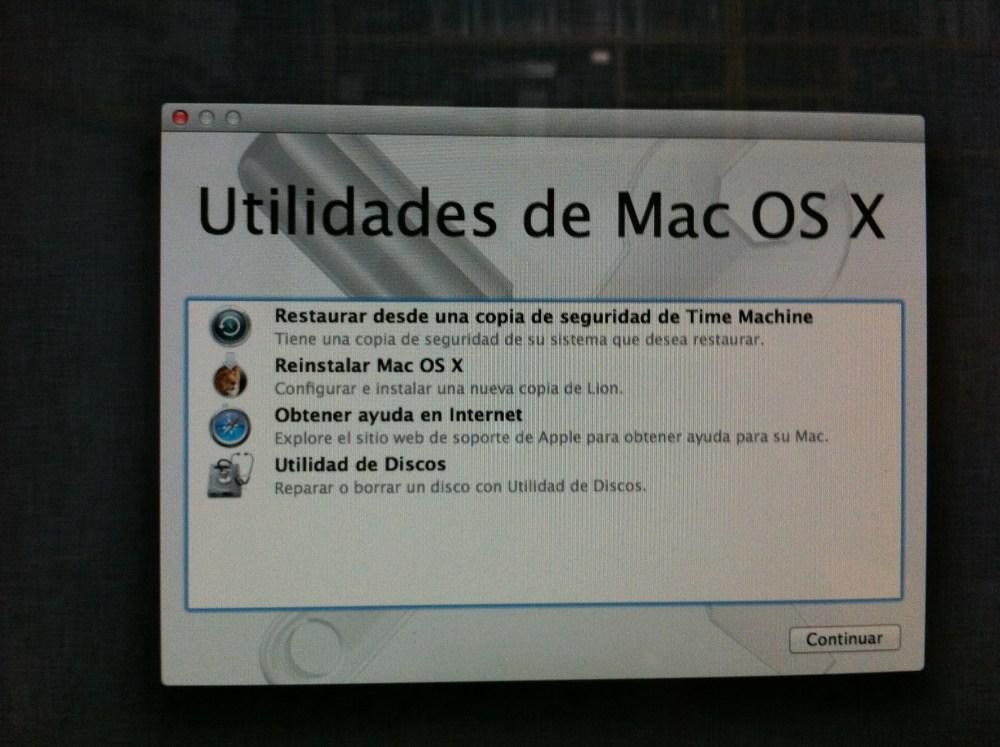 Instalando Mac OS X 10.7 Lion (4/6)