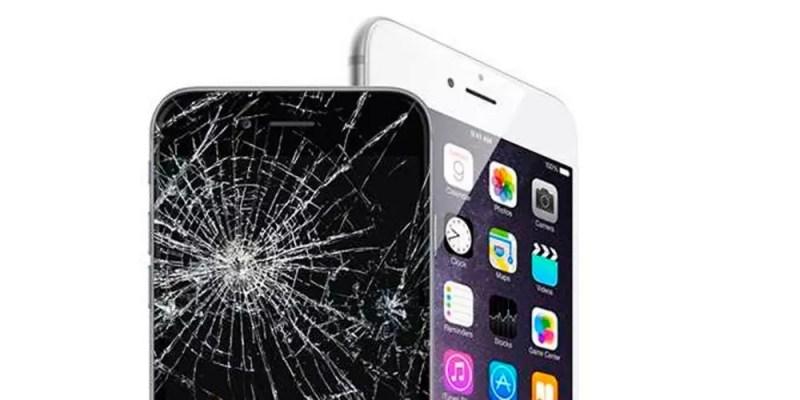 Broken iPhone 6s screen
