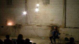 Aoïde performance de Violaine Lochu - ⓒ Pierrick Hardy
