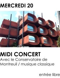 Visus site - midi concert decembre 2017