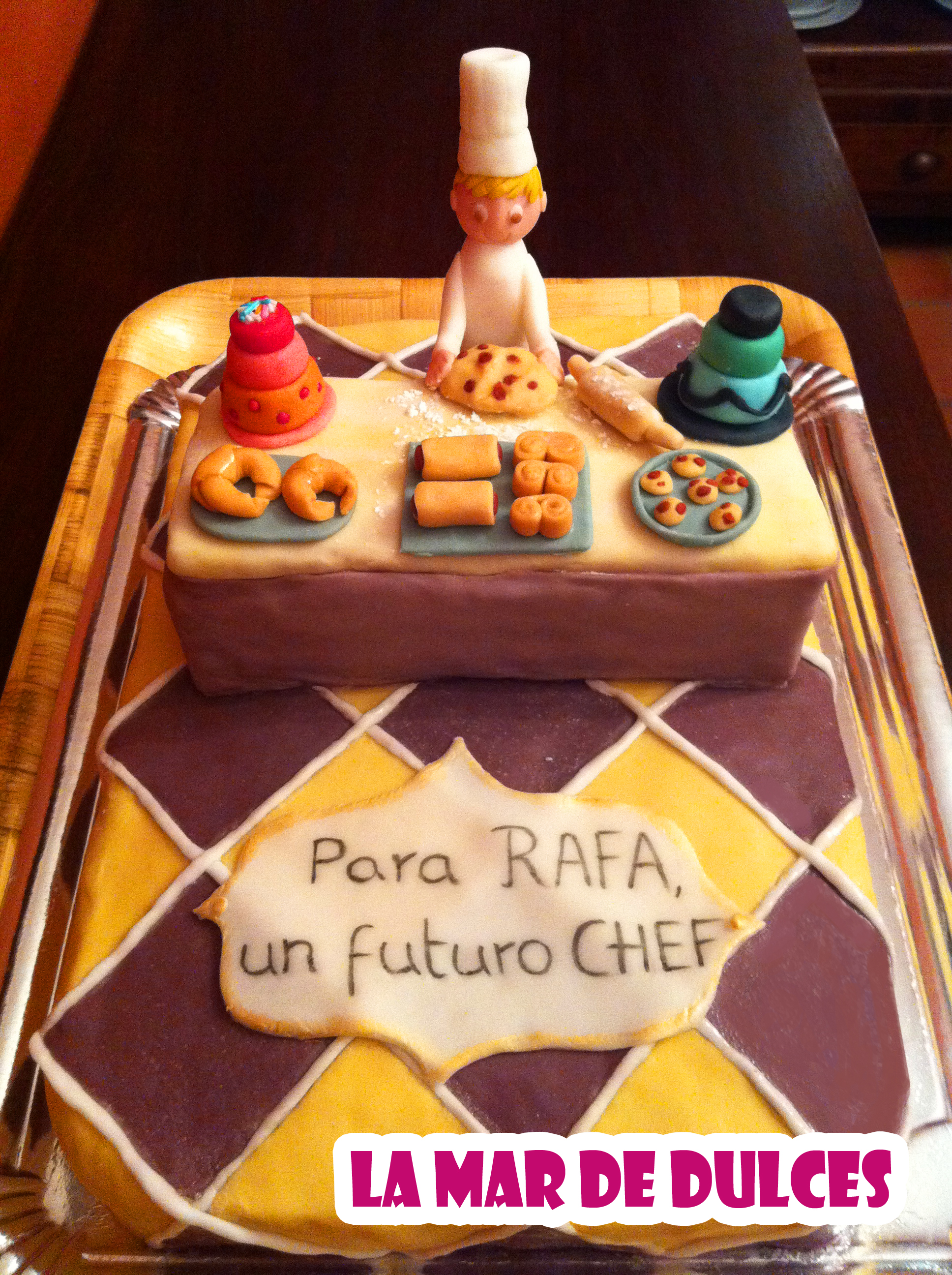 tarta chef sevilla  Dulces artesanales Sevilla comida