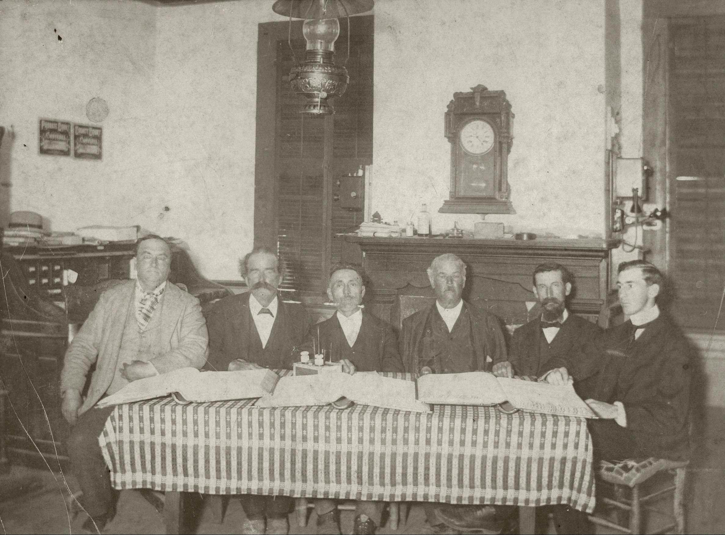 Lamar County, Alabama County Commission 1900