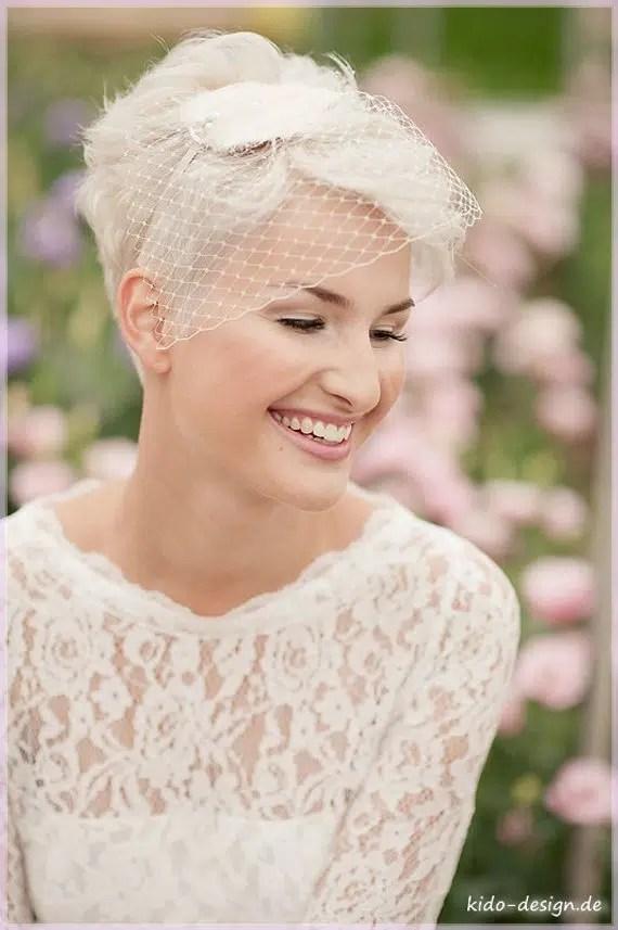 Brautfrisuren Sehr Kurze Haare