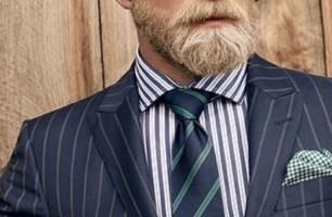 Coloration barbe et moustache