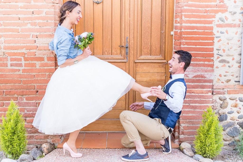 Mariage jean Denim Chic