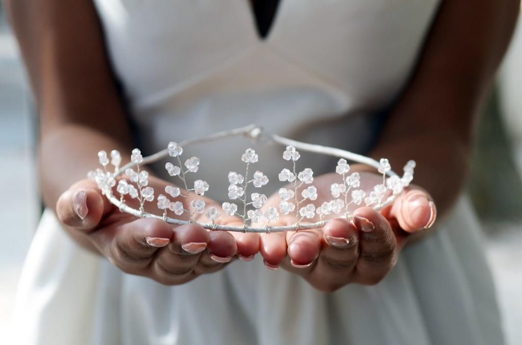 couronne de tête mariage