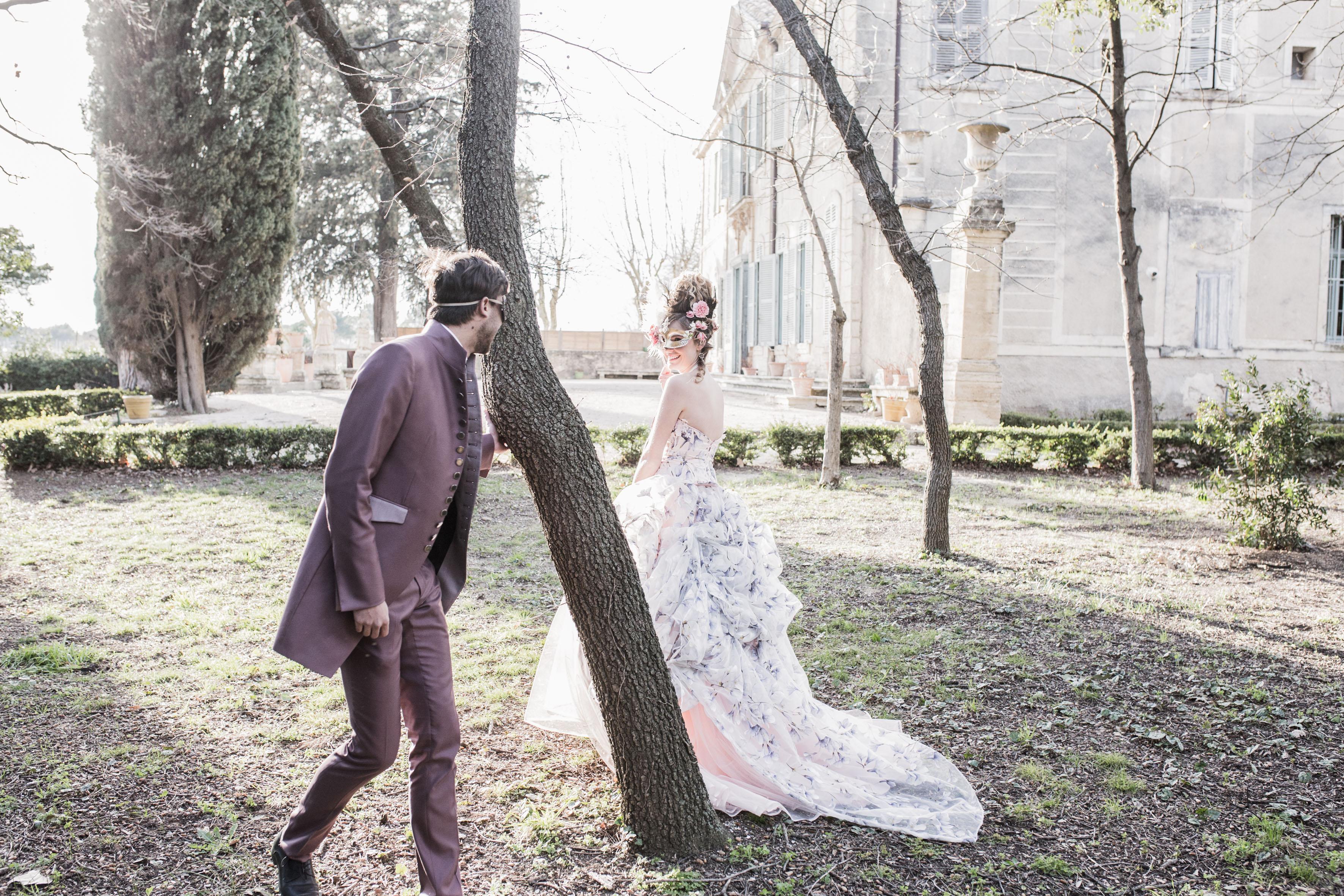 Mariage princesse - temps des châteaux