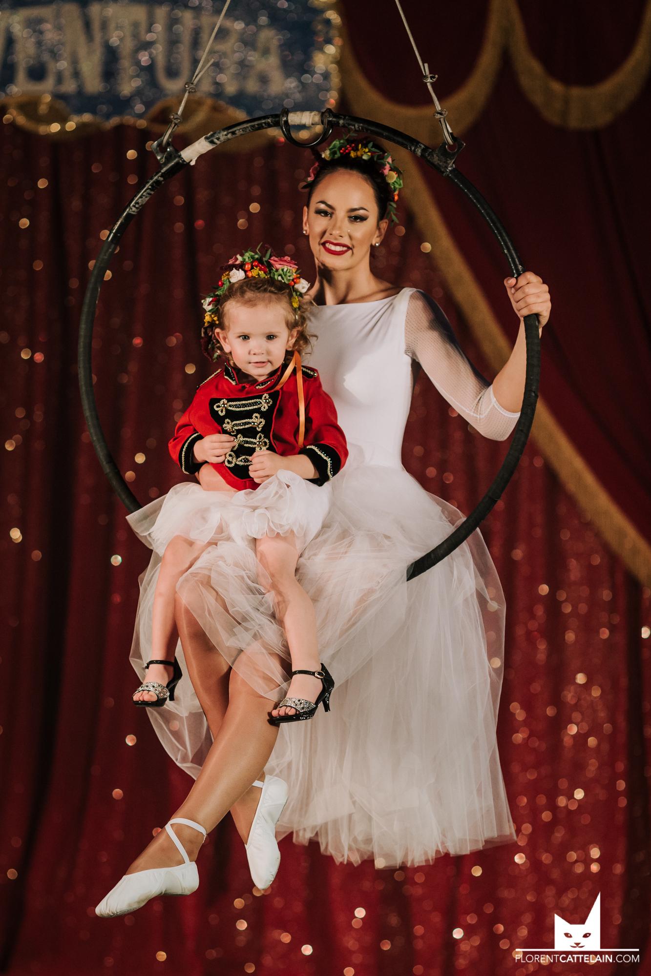 Mariage cirque ballerines
