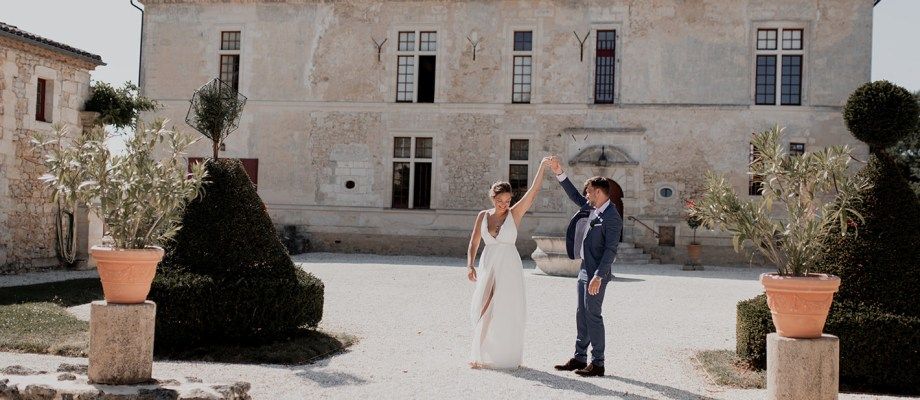 Shooting d'inspiration – Mariage au Château de Castelneau