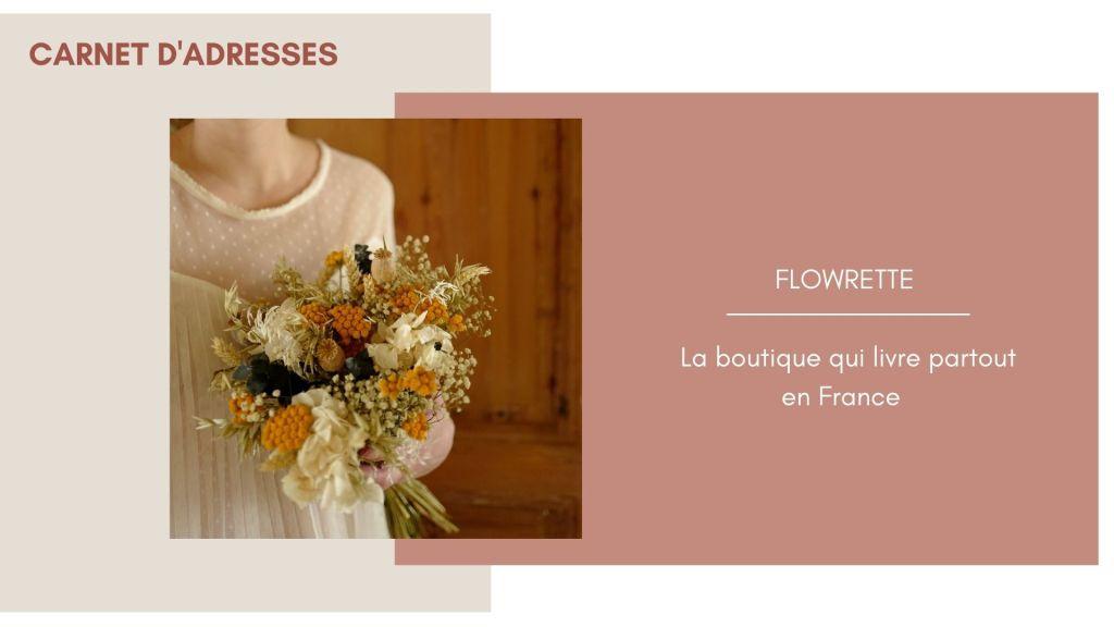 Flowrette fleurs séchées