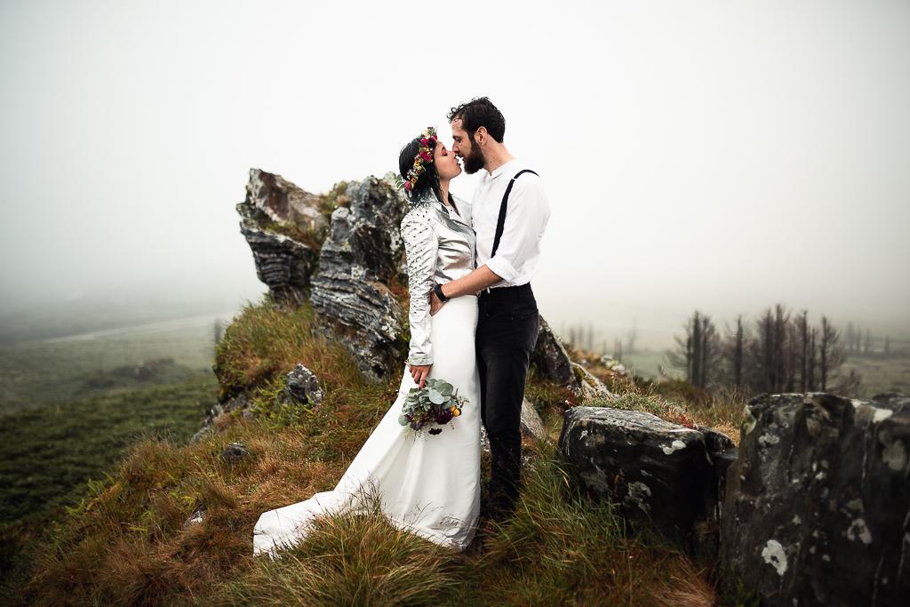 Photo de mariage à l'extérieur