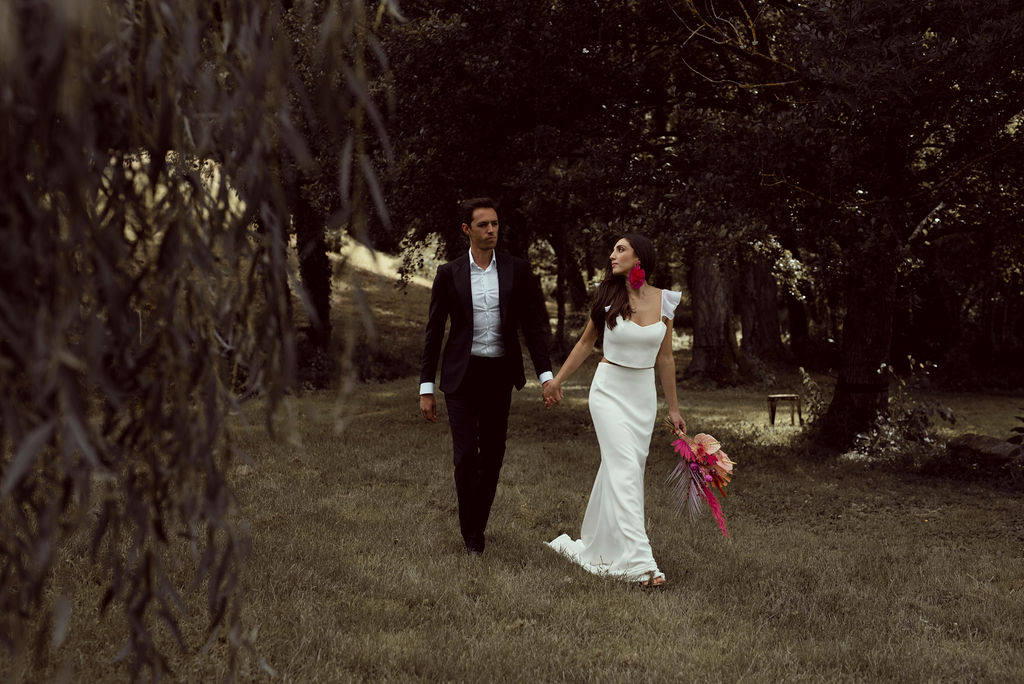 Mariage Bohème tropical