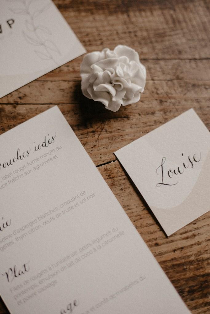 Papeterie mariage - Ateliers d'artistes