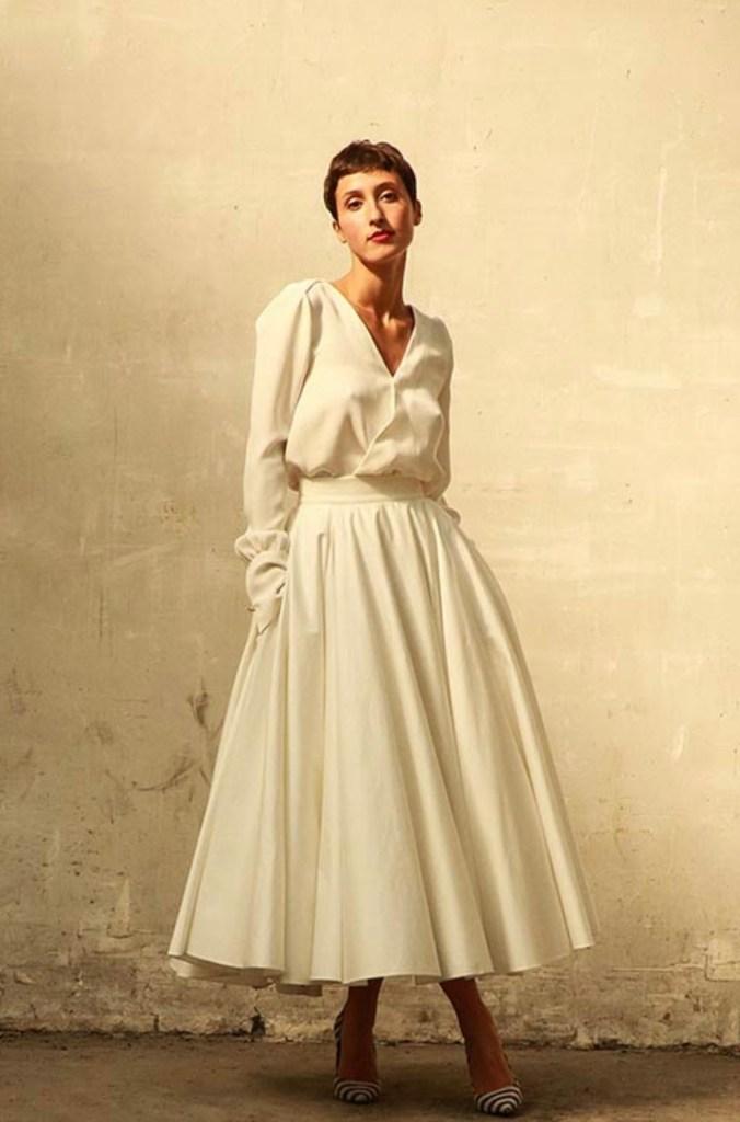 Love is like a Rose - Robe de mariée