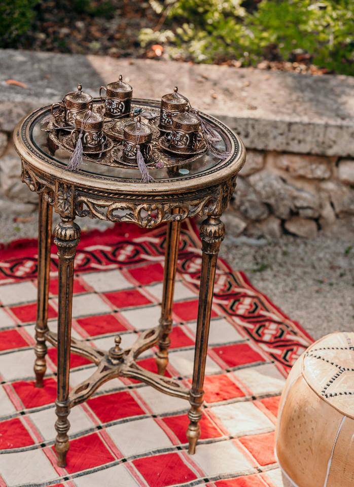 décoration de mariage orient chic