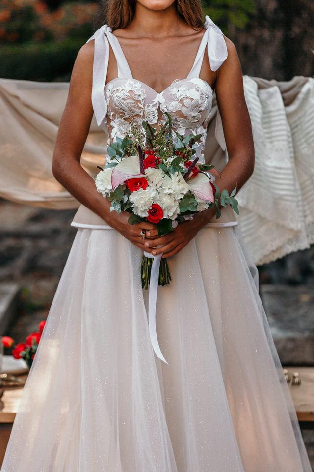 Bouquet de fleur mariage oriental chic