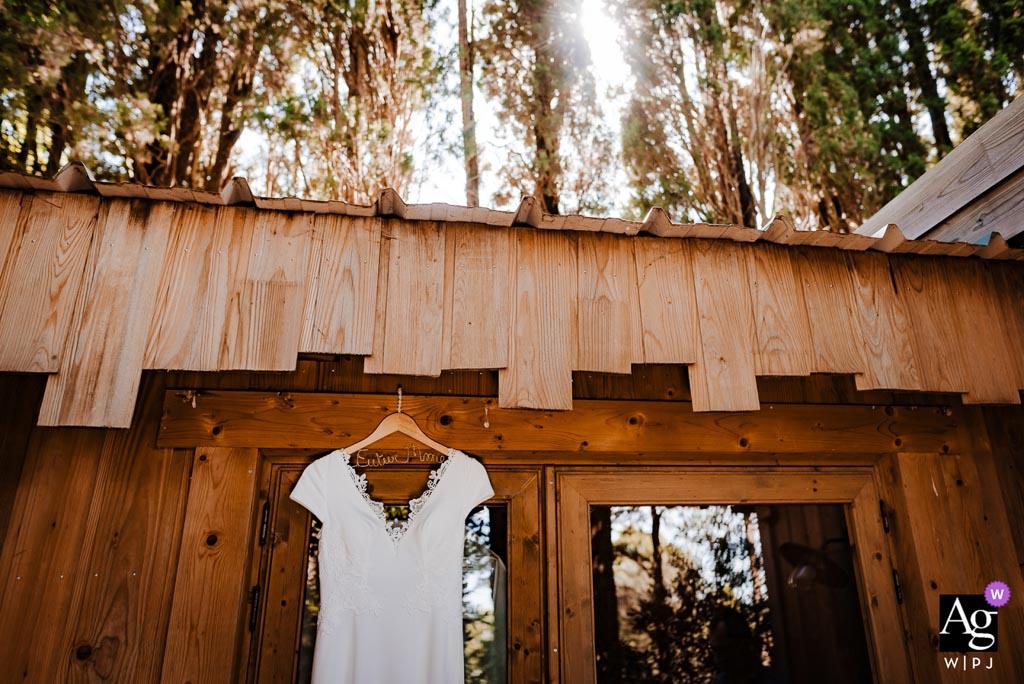 Mariage dans une cabane dans les bois