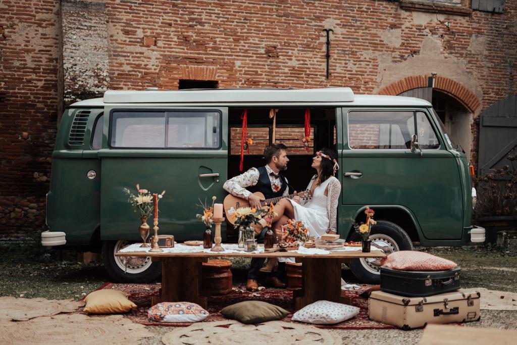 mariage Woodstock combi