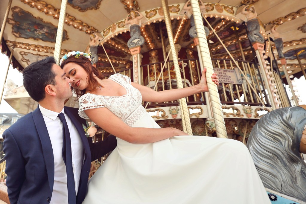 mariage carrousel