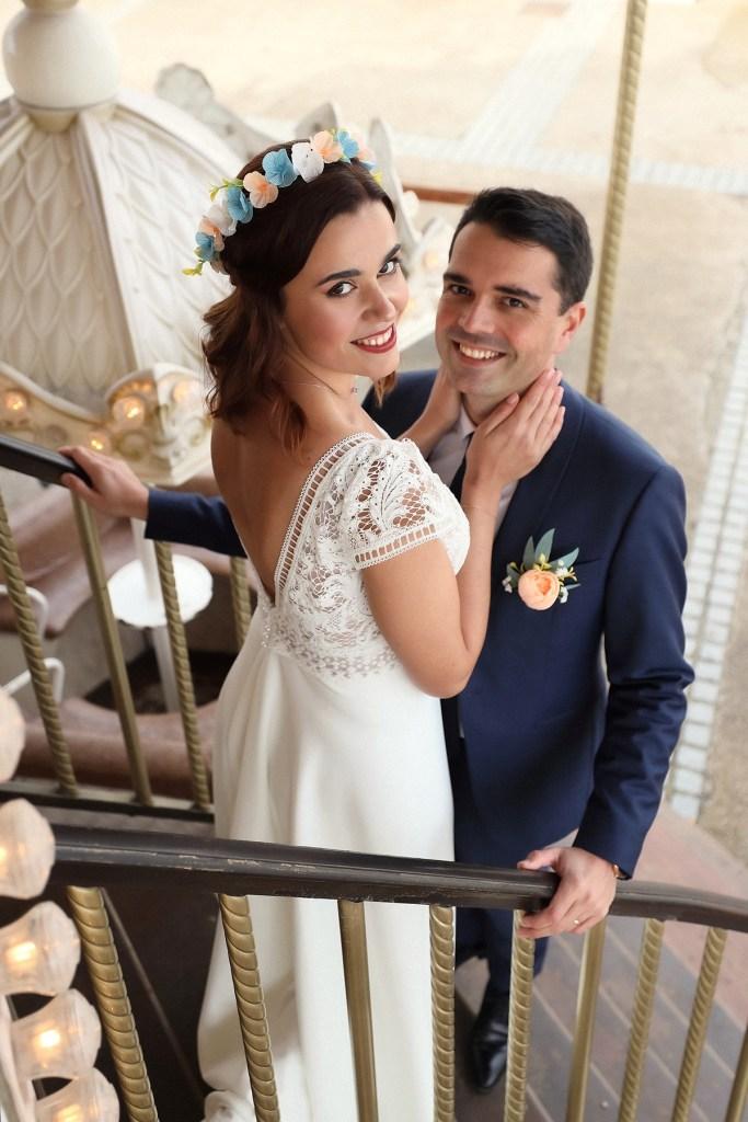 mariage pastel