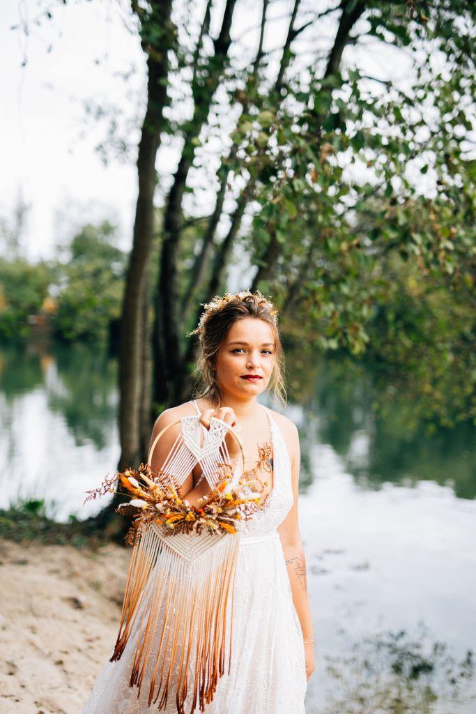 robe de mariée gipsy folk boheme
