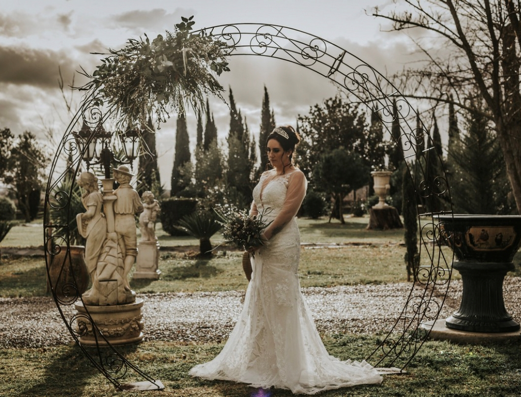Mariage au château bouquet de mariage