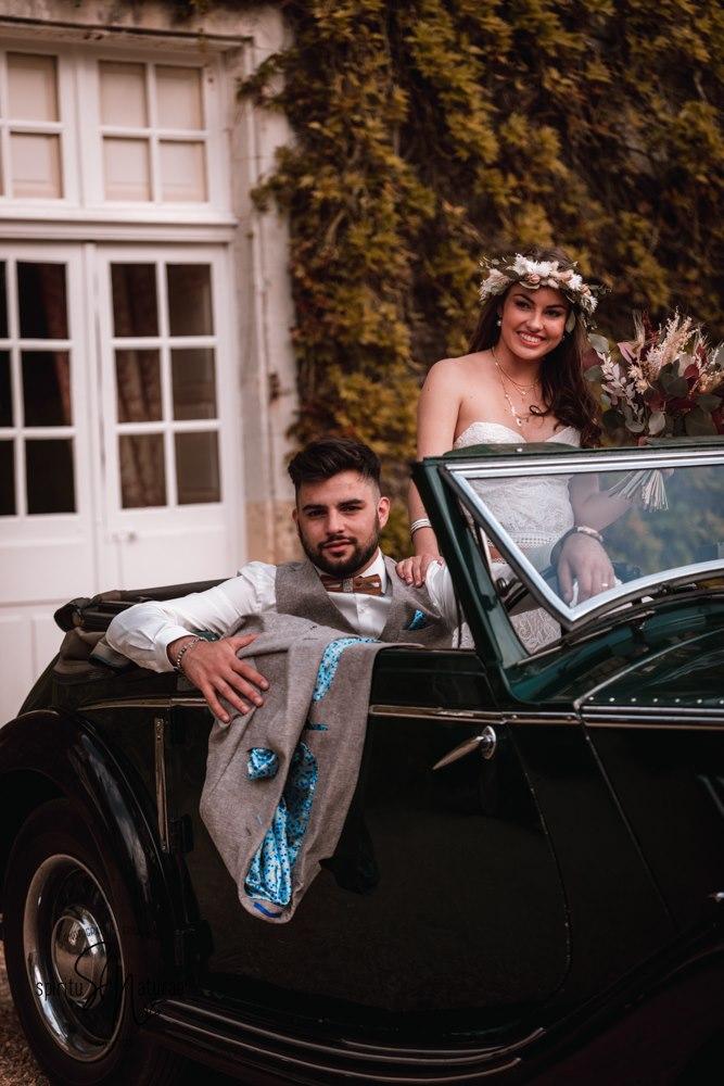 transport de collection mariage