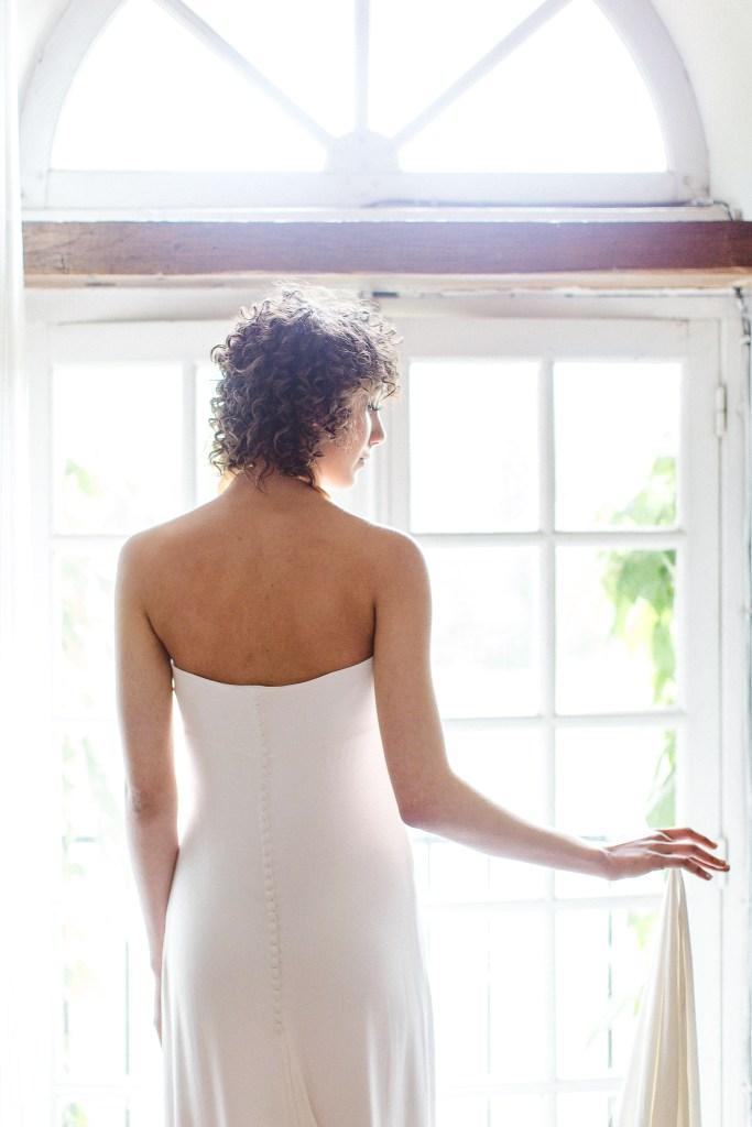 Robe de mariée love is like a rose